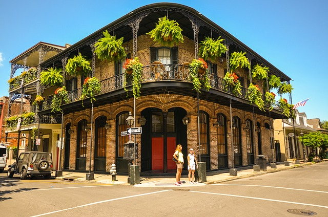 New Orleans French Quarter iron