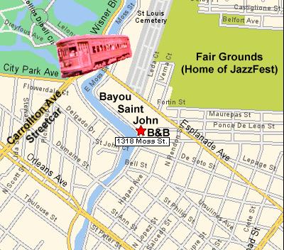 New Orleans Neighborhood Series Fairgrounds Mohan Kailas